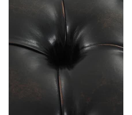 vidaXL Sitzbank Kunstleder-Polsterung 160 × 40,5 × 50,5 cm[6/7]
