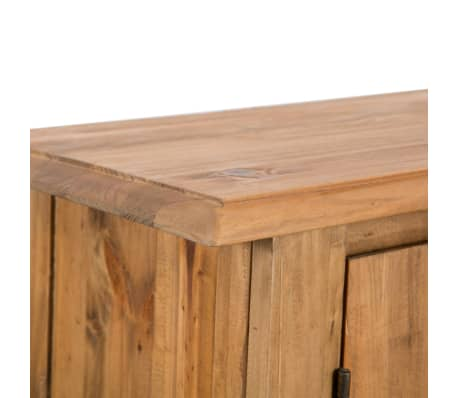 vidaXL Wastafelkast 70x32x63cm gerecycled massief grenenhout[8/9]