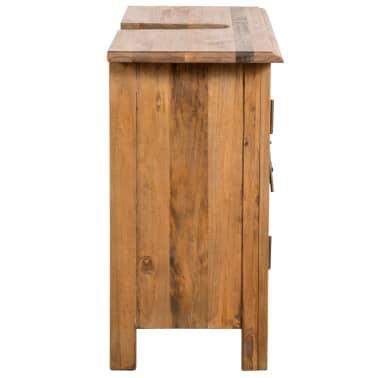 vidaXL Armario tocador cuarto de baño madera reciclada pino 70x32x63cm[6/9]