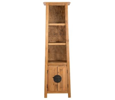 vidaXL Vonios spintelė, masyvi perdirbta pušies mediena, 48x32x170 cm[2/7]