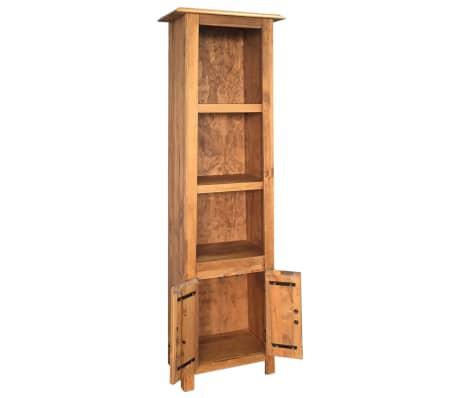 vidaXL Vonios spintelė, masyvi perdirbta pušies mediena, 48x32x170 cm[4/7]