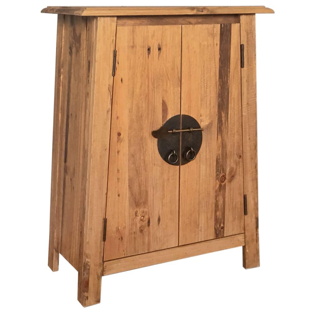 Koupelnová odkládací skříňka recyklované borové dřevo 59x32x80