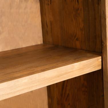 vidaXL Vonios spintelė, masyvi perdirbta pušies mediena, 59x32x80 cm[7/9]