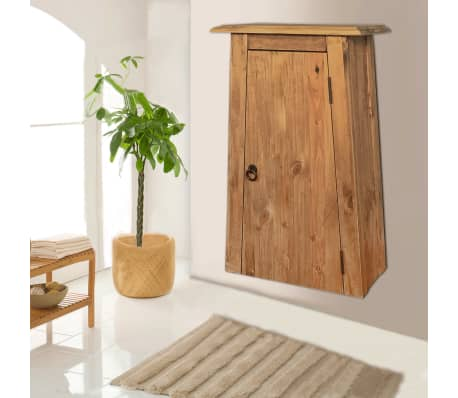 vidaXL Badezimmer-Wandschrank Recyceltes Massivholz Kiefer 42×23×70cm[2/9]