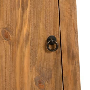 vidaXL Badezimmer-Wandschrank Recyceltes Massivholz Kiefer 42×23×70cm[7/9]