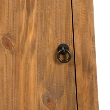 vidaXL Badezimmer-Wandschrank Recyceltes Massivholz Kiefer 42×23×70cm[8/9]