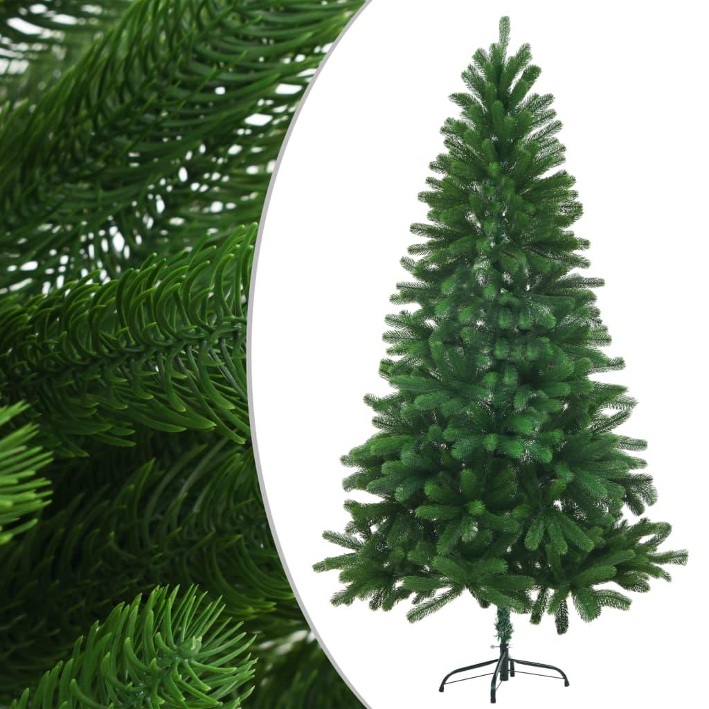 vidaXL Brad de Crăciun artificial, ace cu aspect natural, 150 cm verde imagine vidaxl.ro