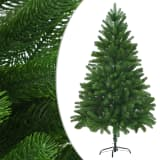 vidaXL Χριστουγεννιάτικο Δέντρο με Αληθοφανείς Βελόνες Πράσινο 180 εκ.