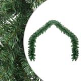 vidaXL Ziemassvētku vītne, 5 m, PVC