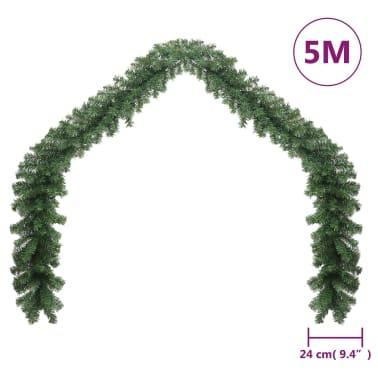 vidaXL Vánoční girlanda PVC 5 m[4/6]