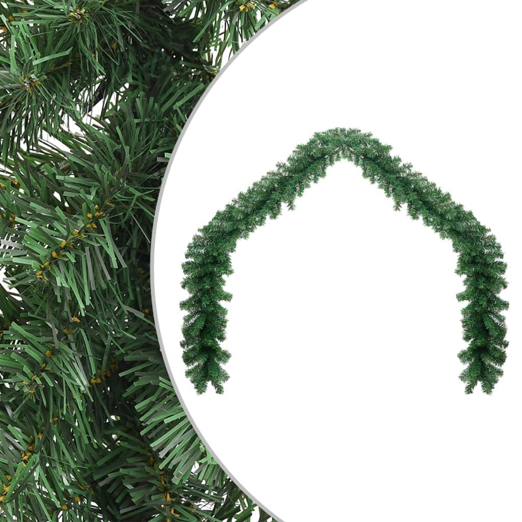Afbeelding van vidaXL Kerstslinger 10 m PVC