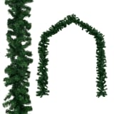 vidaXL Ziemassvētku vītne, 20 m,  PVC