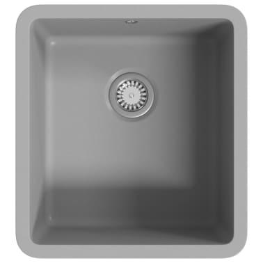 vidaXL Diskho granit enkel grå[2/5]