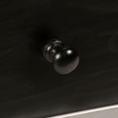 "vidaXL TV Cabinet Solid Mango Wood and Steel 47.2""x11.8""x17.7""[4/13]"