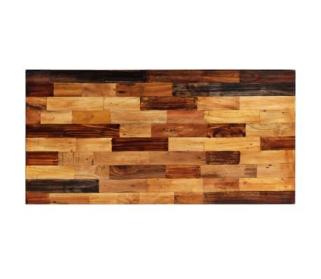 vidaXL Bartafel 120x60x106 cm massief gerecycled hout[2/12]