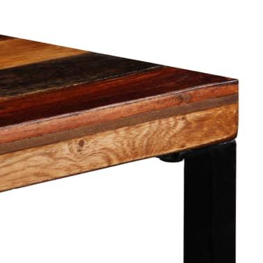 vidaXL Bartafel 120x60x106 cm massief gerecycled hout[5/12]