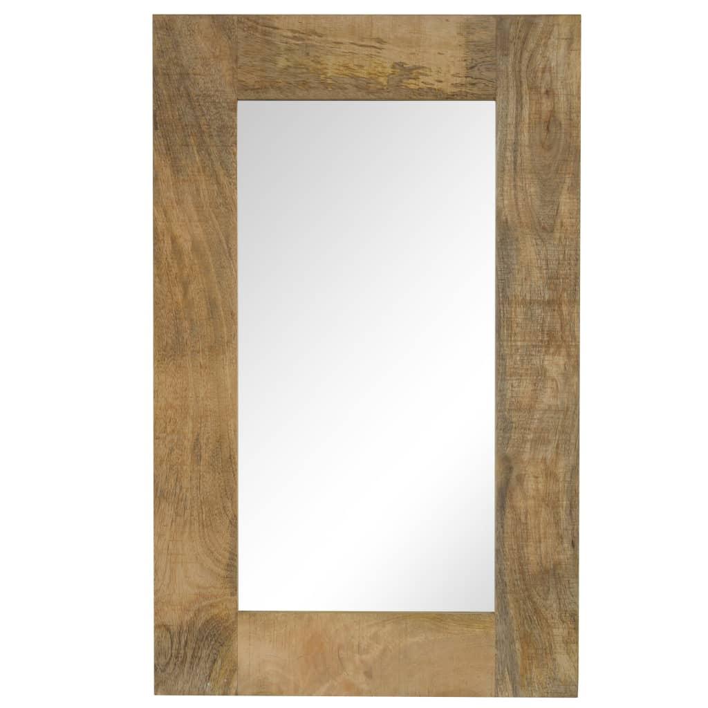 vidaXL Καθρέφτης 50 x 80 εκ. από Μασίφ Ξύλο Μάνγκο