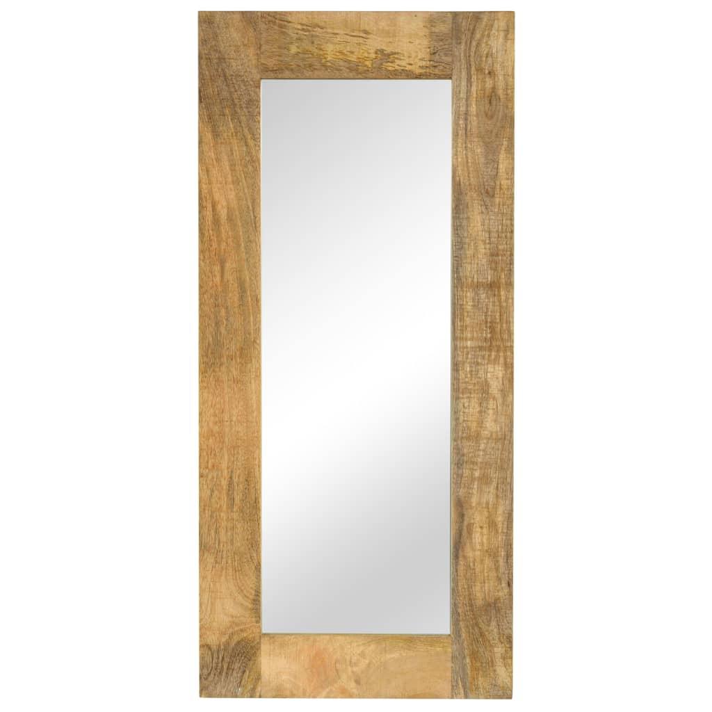 vidaXL Καθρέφτης 50 x 110 εκ. από Μασίφ Ξύλο Μάνγκο