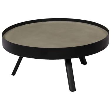 vidaXL Kavos staliukas, 74x32cm, betoninis stalviršis[1/14]