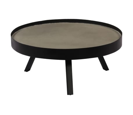 vidaXL Kavos staliukas, 74x32cm, betoninis stalviršis[2/14]