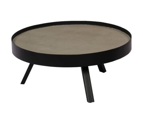 vidaXL Kavos staliukas, 74x32cm, betoninis stalviršis[11/14]