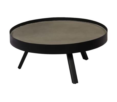 vidaXL Kavos staliukas, 74x32cm, betoninis stalviršis[13/14]