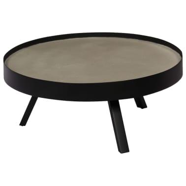 vidaXL Kavos staliukas, 74x32cm, betoninis stalviršis[12/14]
