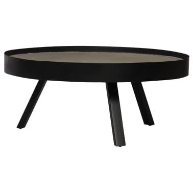 vidaXL Kavos staliukas, 74x32cm, betoninis stalviršis[4/14]