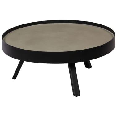 vidaXL Kavos staliukas, 74x32cm, betoninis stalviršis[10/14]
