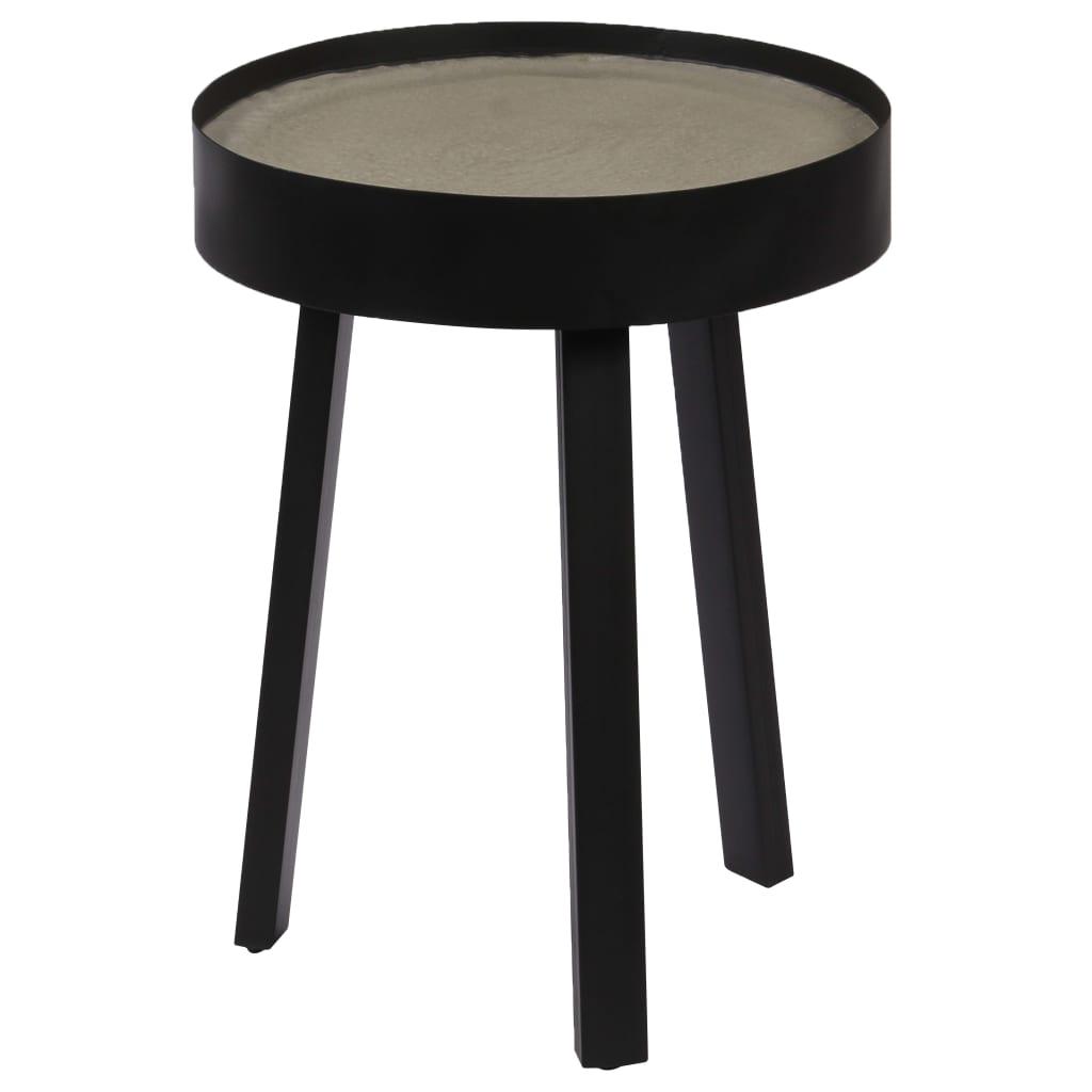 vidaXL Konferenční stolek s betonovou deskou 40 x 55 cm