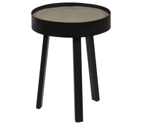 vidaXL Table basse Dessus de table en béton 40 x 55 cm
