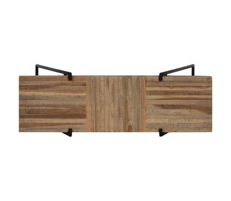 vidaXL Konsolinis staliukas, 120x35x81cm, perdirbta tikmedžio mediena[5/14]