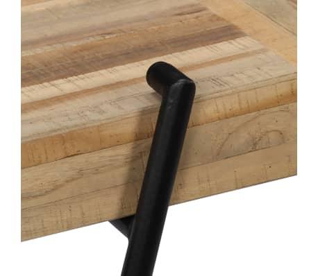 vidaXL Konsolinis staliukas, 120x35x81cm, perdirbta tikmedžio mediena[6/14]