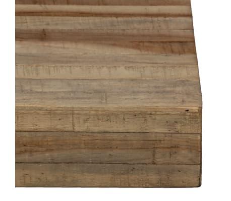 vidaXL Konsolinis staliukas, 120x35x81cm, perdirbta tikmedžio mediena[8/14]