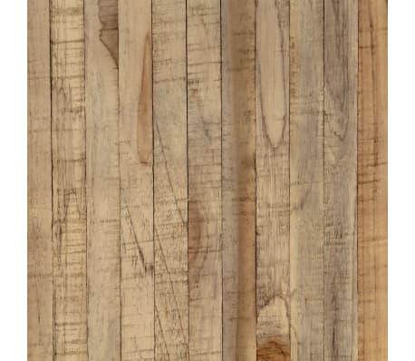 vidaXL Konsolinis staliukas, 120x35x81cm, perdirbta tikmedžio mediena[10/14]