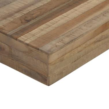 vidaXL Konsolinis staliukas, 120x35x81cm, perdirbta tikmedžio mediena[9/14]
