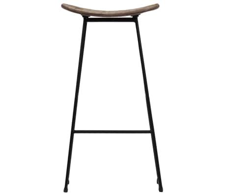 vidaXL Bar Chairs 2 pcs Reclaimed Teak[3/14]