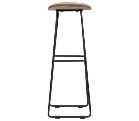 vidaXL Bar Chairs 2 pcs Reclaimed Teak[4/14]
