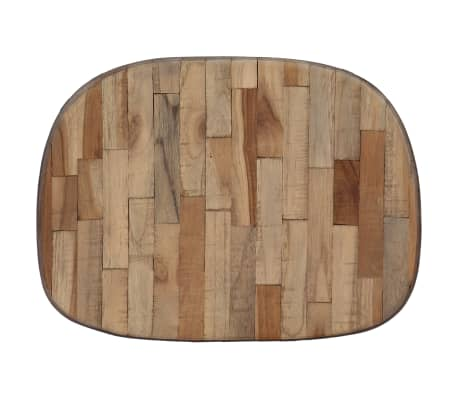 vidaXL Bar Chairs 2 pcs Reclaimed Teak[5/14]