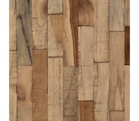 vidaXL Bar Chairs 2 pcs Reclaimed Teak[8/14]