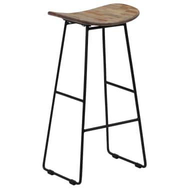 vidaXL Bar Chairs 2 pcs Reclaimed Teak[13/14]