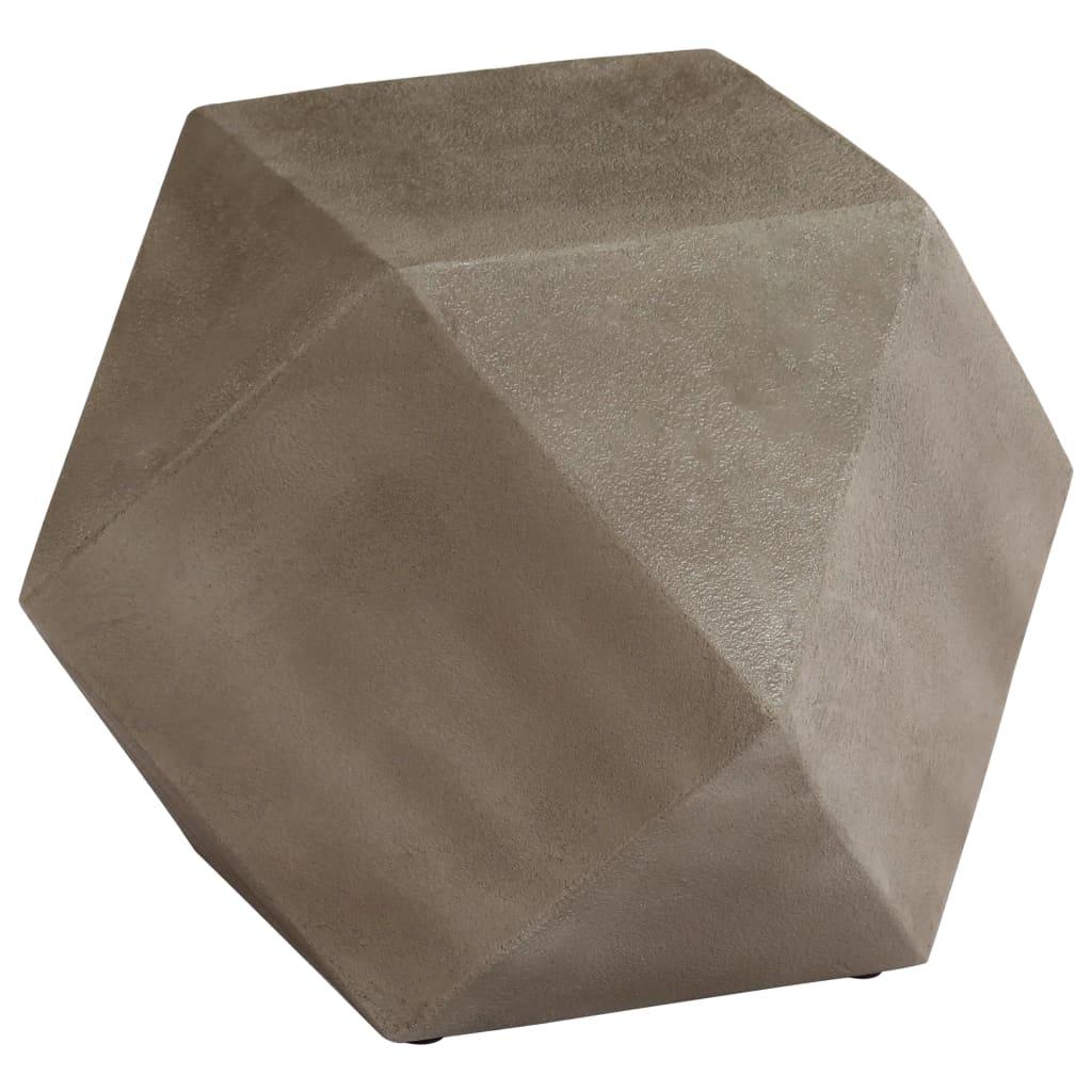 vidaXL Stolik boczny z betonu, 40x40x40 cm