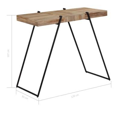 vidaXL 5 Piece Bar Set Reclaimed Teak[8/14]