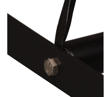 vidaXL Bar Set 3 Pieces Solid Sheesham Wood and Genuine Leather[6/19]