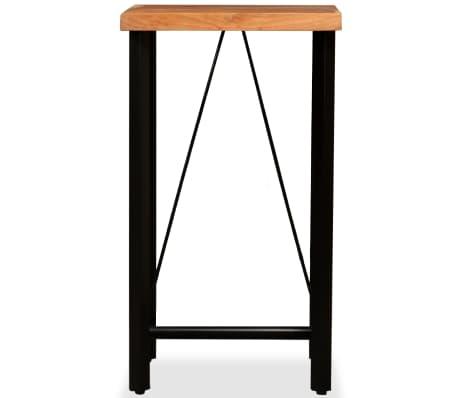 vidaXL Bar Set 3 Pieces Solid Sheesham and Reclaimed Wood[3/16]