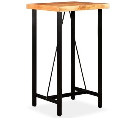 vidaXL Bar Set 3 Pieces Solid Sheesham and Reclaimed Wood[7/16]