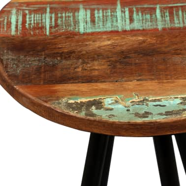 vidaXL Bar Set 3 Pieces Solid Sheesham and Reclaimed Wood[11/16]