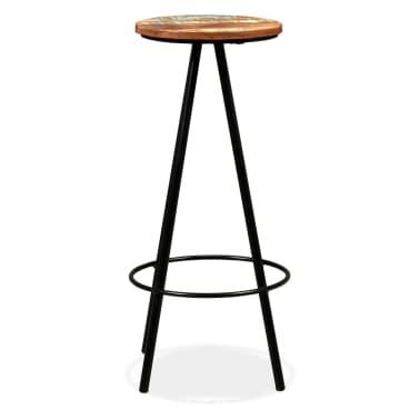 vidaXL Bar Set 3 Pieces Solid Sheesham and Reclaimed Wood[14/16]
