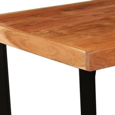 vidaXL Bar Set 3 Pieces Solid Sheesham and Reclaimed Wood[4/16]