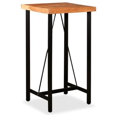 vidaXL Bar Set 3 Pieces Solid Sheesham and Reclaimed Wood[8/16]
